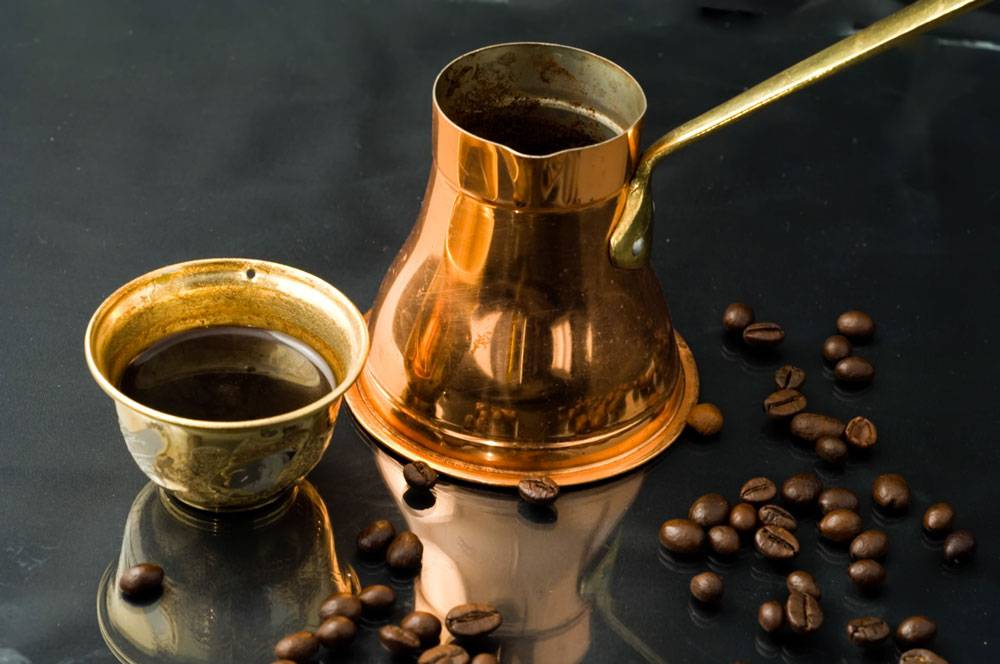 Métodos de preparación de café - Método de cocción - Café Turco