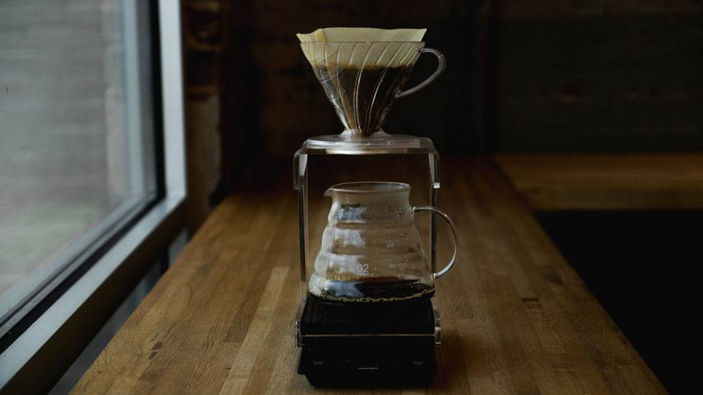 Métodos de preparación de café - Método de filtrado por goteo - V60