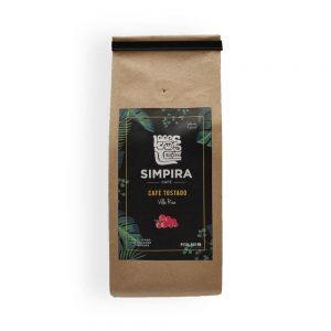 café simpira Café Simpira – Villa Rica – Grano 250gr Caf   Simpira Villa Rica Grano 300x300